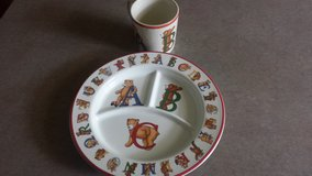 Alphabet Bears Cup and Plate in Yorkville, Illinois