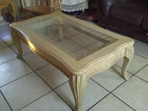 Coffee table and end table in Fort Hood, Texas