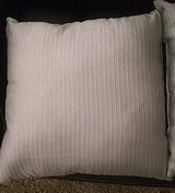 Gray 18x18 throw pillows 2ea in Morris, Illinois