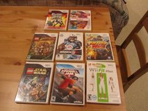 Wii Games - $5 each in Yorkville, Illinois