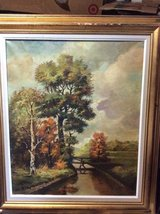 NICE  FRAMED OIL PAINTING, BY NOTED GERMAN ARTIST in Leesville, Louisiana