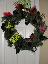 """HALLOWEEN ""WITCH"" WREATH in Camp Lejeune, North Carolina"