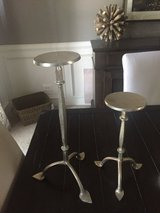 Pottery barn candle sticks in Plainfield, Illinois