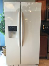 Amana 25 cf Side by Side Refrigerator - ASI2575FRW in Tacoma, Washington