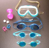 Children's Swim Goggles+ - Lot of 4 & Some Extras in Alamogordo, New Mexico