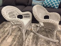 Child size wicker chairs in Chicago, Illinois