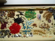 Large lot of beads, buttons, pendants,  buckles in Kingwood, Texas
