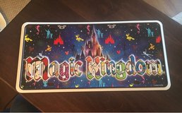 Magic Kingdom License Plate in Aurora, Illinois