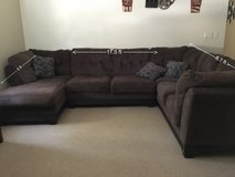 Brown sectional in Lake Elsinore, California