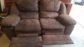 Recline Sofa - $100(Fort Bliss) in El Paso, Texas