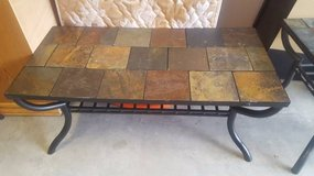 Slate Coffee Table - $80 (Fort Bliss) in El Paso, Texas