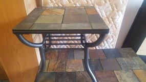 Slate End Table - $50 (FORT BLISS) in El Paso, Texas