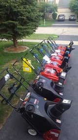 Snowblower's sale and repair in New Lenox, Illinois