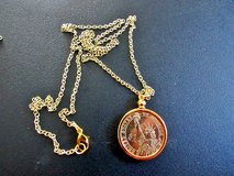 Handcrafted Pendant Jewelry Findings Pendant Charm Coin Holder - Coin Bezel - Presidential Dolla... in Cherry Point, North Carolina