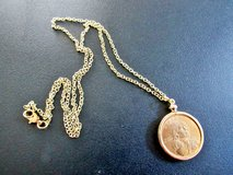 Handcrafted Pendant Jewelry Findings Pendant Charm Coin Holder - Coin Bezel - Sacajawea Dollar in Cherry Point, North Carolina