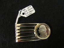 Gold Plated Money Clip - Jewelry Findings Pendant Charm Coin Holder - Coin Bezel - U.S. Brillian... in Cherry Point, North Carolina