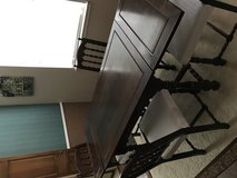 Table chairs and buffet from 1910 in Tomball, Texas