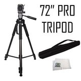 Professional 72-inch Tripod 3-way Panhead Tilt Motion with Built In Bubble Level in Fort Campbell, Kentucky