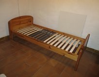 pine wood bed in Ramstein, Germany