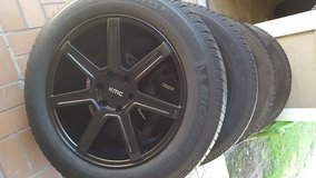"20"" KMC Ford F150 wheels and tires in Conroe, Texas"