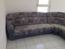 Large Used Sectional (Pick up: 17th Nov.) in Stuttgart, GE