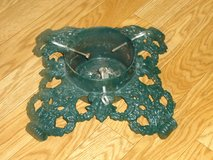 vintage cast iron xmas tree stand in Chicago, Illinois