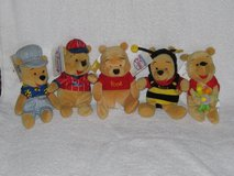 Disney Store Winnie the Pooh beanies in Chicago, Illinois