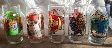 80s collectors drinking glasses in Gordon, Georgia