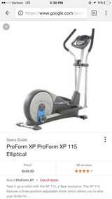 Elliptical like new in Gordon, Georgia