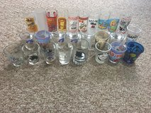 26 Shot Glasses .50 cents each Buy 4 Get 1 FREE Final Offer! in Aurora, Illinois