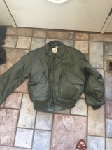 flight jacket in Tinker AFB, Oklahoma