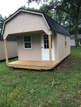 10x20 Lofted Cabin Shed in Murfreesboro, Tennessee