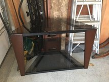 "Corner Glass TV stand, fits 60"" Flat Screen in Fort Leavenworth, Kansas"