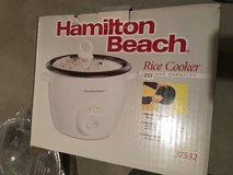 Hamilton beach rice cooker  new in Naperville, Illinois