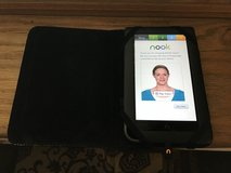 NOOK Color with case and charger in Morris, Illinois