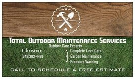 Total Outdoor Maintenance Services in Kingwood, Texas