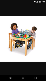 Imaginarium LEGO Activity table and 2 chairs in Yorkville, Illinois