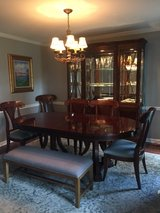 Bernhardt Dining Room Table and Lighted Hutch in Hopkinsville, Kentucky