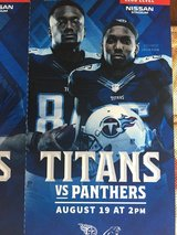 Titans vs. Panthers Club seats *3 w/parking* in Fort Campbell, Kentucky