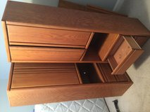 Hardwood furniture, dresser, book case, and tv stand in Fort Lee, Virginia