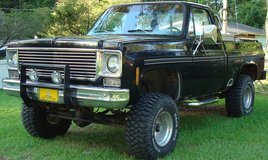 1976 Chevrolet K-10 4 x 4 Pickup Truck, Great Bugout Vehicle! in Camp Lejeune, North Carolina
