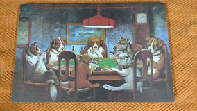 Dogs Playing Poker Canvas in Alamogordo, New Mexico