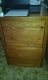 Oak Wood Filing Cabinet in Valdosta, Georgia