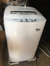 HAIER PORTABLE WASHING MACHINE-1 YR NEW in Lockport, Illinois