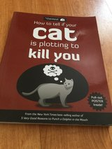 Funny cat book for a cat person in Okinawa, Japan