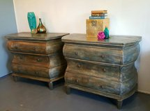Pair of Bombay  Dressers or Extra Large Nightstands in Baytown, Texas