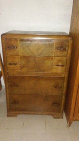 Antique Solid Wood Dresser in Fort Rucker, Alabama