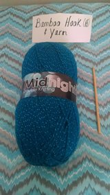 NEW Bamboo Hook (H) & Metallic Yarn 100g in Lakenheath, UK