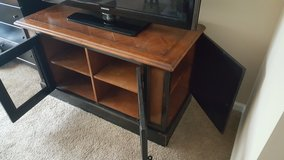 Heavy - Well Made Entertainment Cabinet in Providence, Rhode Island