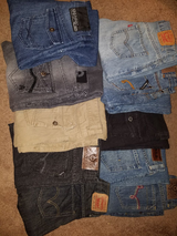 Boys jeans in Mayport Naval Station, Florida